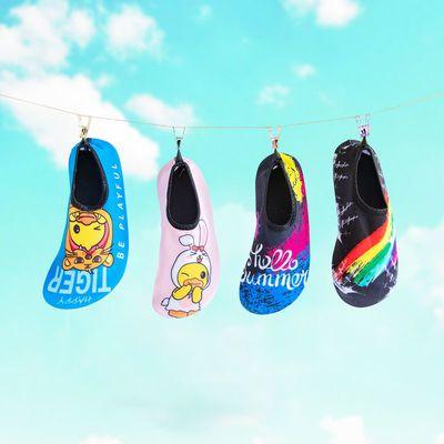 46883/户外沙滩鞋男女浮潜涉水防滑防割软底速干亲子游泳鞋潜水鞋袜鞋