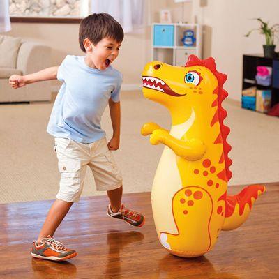 75786/充气不倒翁玩具沙袋宝宝大号男女小孩子儿童拳击益智玩具012356岁