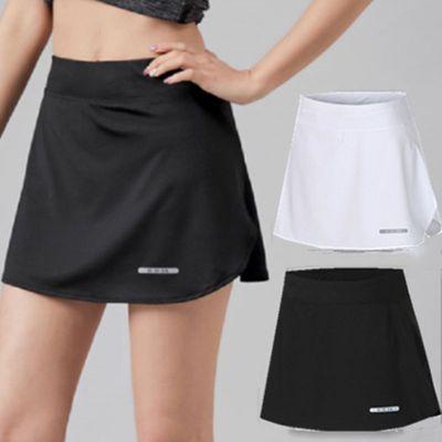 56946/新款短裙女夏季运动速干网球羽毛球半身裙防走光瑜伽健身跑步裤裙