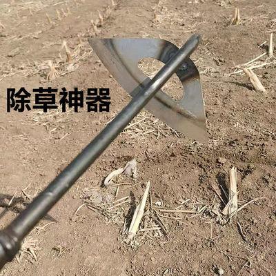 除草神器锄头农用老式大板锄空心锄草锄头多功能全钢除草工具农用
