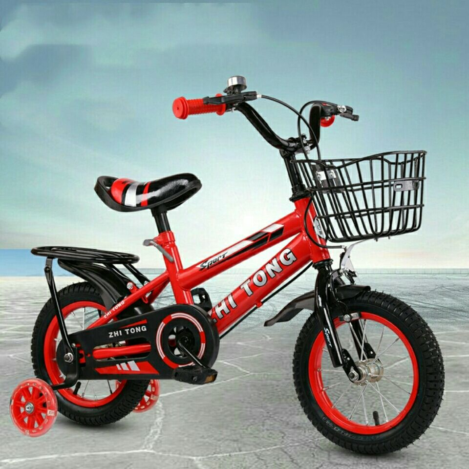 儿童自行车男女宝宝脚踏车