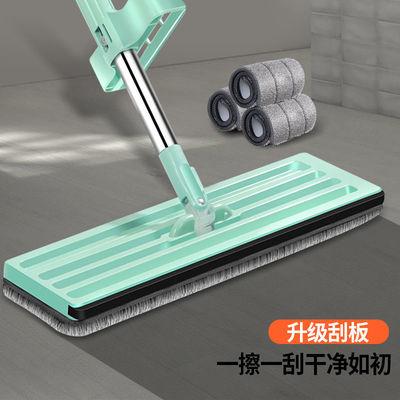 免手洗平板拖把木地板拖地家用懶人一拖干湿两用吸水神器地拖布净