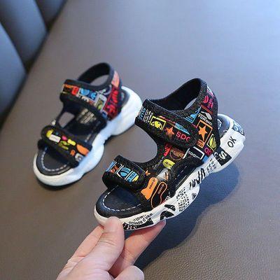 36779/2021儿童凉鞋夏季新款男童凉鞋中小童宝宝沙滩鞋软底婴儿学步鞋子