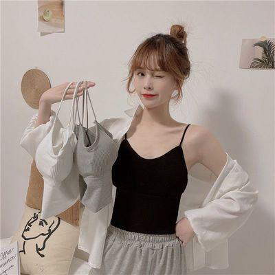 15443/内衣女学生韩版新款吊带小背心女内穿裹胸初中生防走光抹胸无钢圈