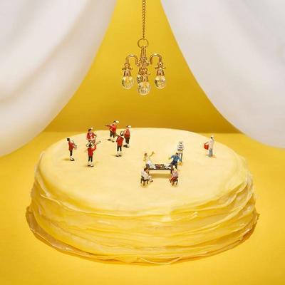 榴莲千层蛋糕网红爆浆6寸千层新鲜生日蛋糕甜品零食