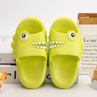21儿童拖鞋夏季男童女童凉拖鞋小中童拖鞋居家卡通凉拖恐龙拖鞋
