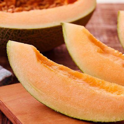 海南哈密瓜西州蜜晓密网纹瓜香妃蜜热带水果甜瓜新鲜现摘现发整箱