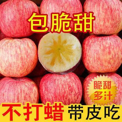【现摘】山西苹果水果新鲜脆甜红富士10斤装3斤5斤整箱批发冰糖心