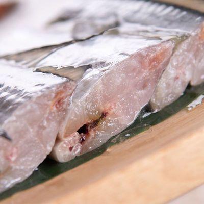 新鲜冷冻带鱼段整箱刀鱼段中段大段去头去尾海鲜水产海鱼