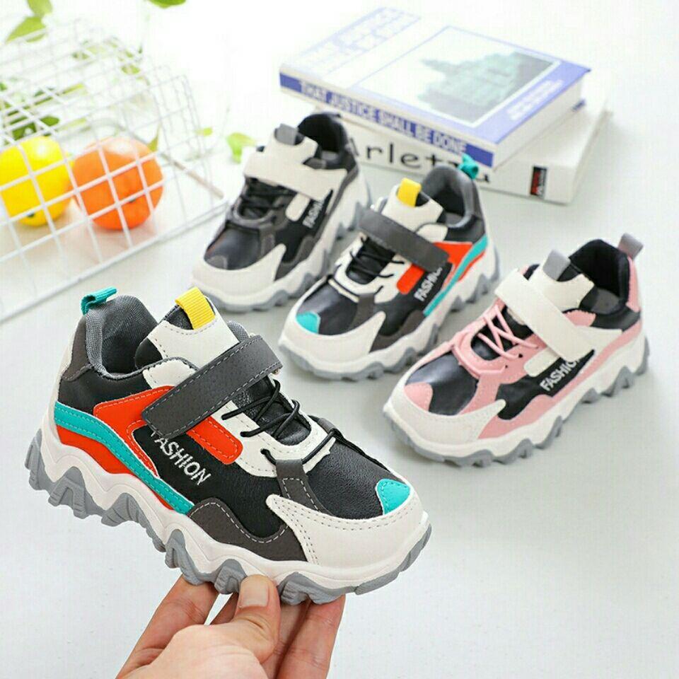 网层布面休闲儿童运动鞋防滑童鞋
