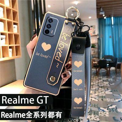 58141/真我RealmeGT大师版GTNeo手机壳Realme Q3 V15 V13 V11女款软壳5G