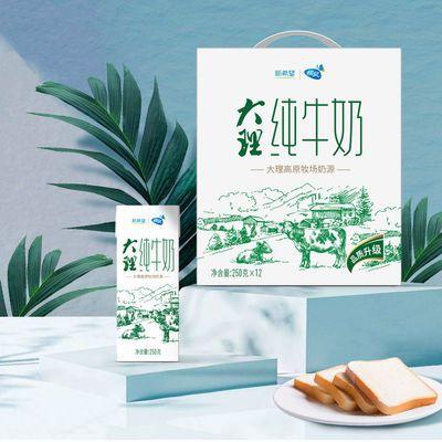 【2月】新希望高原牧场 大理纯牛奶纯牛奶250g*12盒装牧场纯牛奶