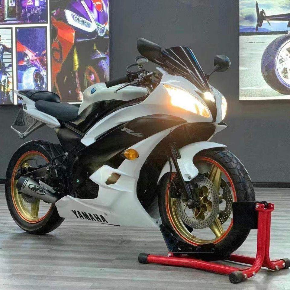 400cc改雅马哈r6摩托车跑车大排量4缸重型机车跑车爬赛进口600c