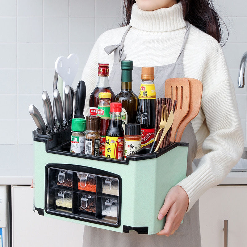 多功能厨房用品置物架调味盒调料架