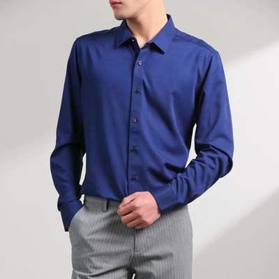 7480/优品剪标时尚休闲男式长袖衬衫ZY057