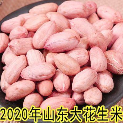 2020年新鲜粉红皮花生米生花生 新货农家自产不带壳花生仁榨油
