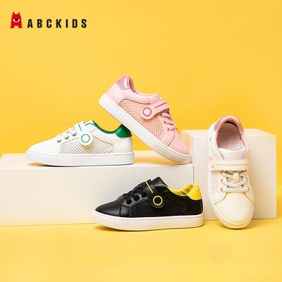 75211/【春哥甄选】Abckids童鞋夏男女童通用鞋透气软底学步启步鞋运动