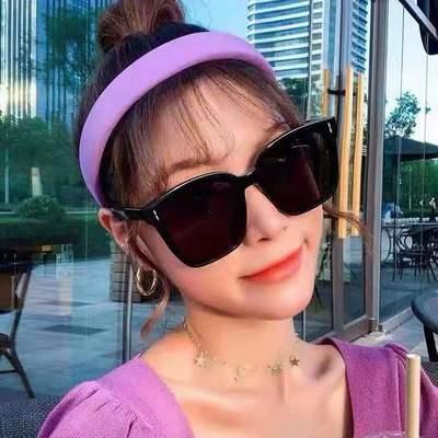 36903/G&M墨镜frida韩版网红同款墨镜太阳眼镜男大脸显瘦墨镜女防紫外线