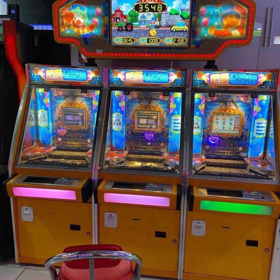 马戏团彩票机超级马戏团彩票机单台送五千游戏币一组送两万游戏币