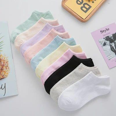 【浙江超火】夏季袜子薄款女透气小白袜男生袜子防臭男女袜子潮款