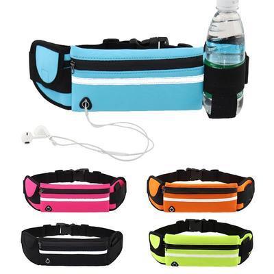 防水防盗手机腰包运动贴身跑步腰包多功能健身男女小水壶包骑行包