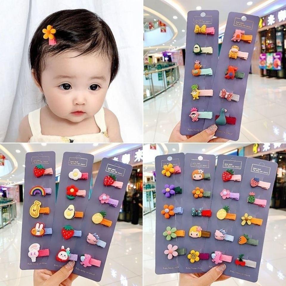 宝宝夹子发饰婴儿发夹不伤发婴幼儿发卡碎发儿童公主韩国小童头饰