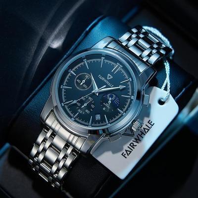 90823/2021年新款马克华菲手表男士高档十大品牌名表夜光全自动非机械表