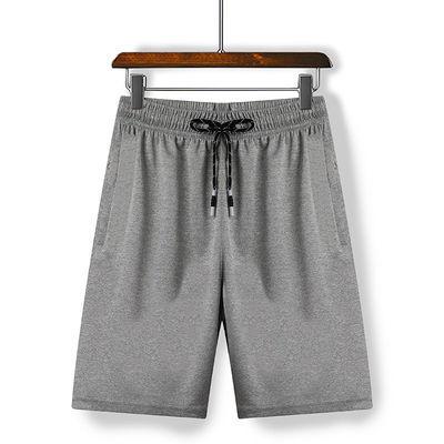 1216/运动短裤男健身速干冰丝五分裤夏季薄款跑步宽松休闲大码空调裤子