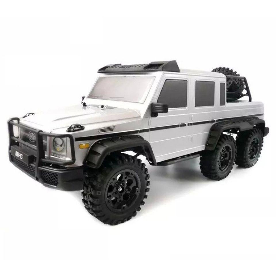 RC遥控玩具车 2.4G 六驱奔驰AMG 6驱防水越野攀爬车 仿真攀爬车