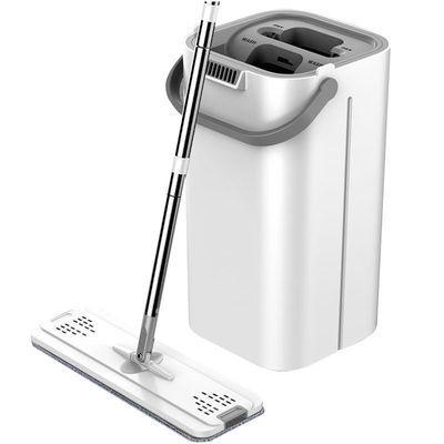 39841/网红拖把刮刮乐免手洗平板拖把家用旋转懒人墩布拖地挤水拖把带桶