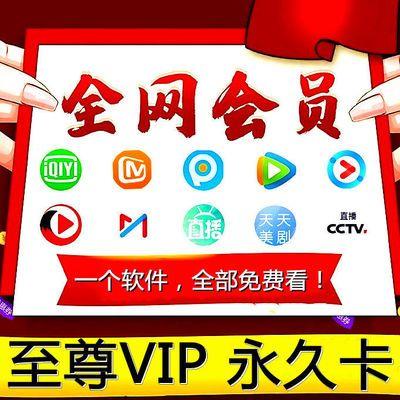万能播放器优酷会员腾讯视频芒果TV爱奇艺VIP非体育vip永久售后卡