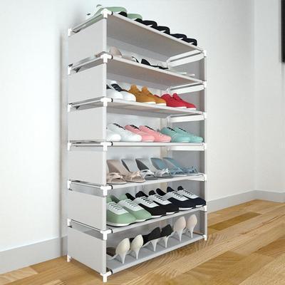 鞋架子简易多层组装防尘鞋柜家用门口宿舍经济型特价收纳置物架