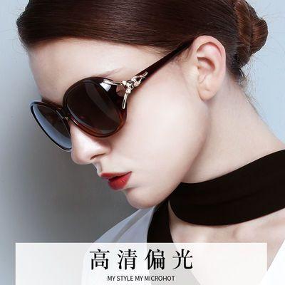 新款太阳镜女明星同款防紫外线高清圆脸太阳眼镜女士墨镜女防晒