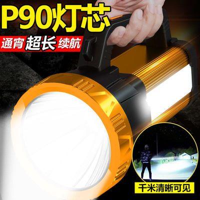 强光手电筒超亮远射可充电野外家用特种兵大功率矿灯手提探照灯