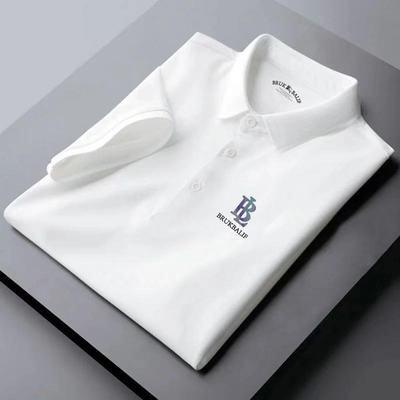 25443/卓梵 阿玛尼男士短袖t恤翻领POLO衫纯棉大码修身半袖体恤男打底衫