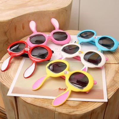 兒童眼鏡太陽鏡男女寶寶戶夏季外遮陽防曬防紫外線墨鏡小孩可愛鏡