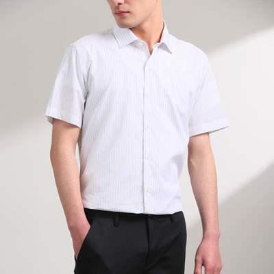 7591/优品剪标时尚休闲男式短袖衬衫HLZLJV506