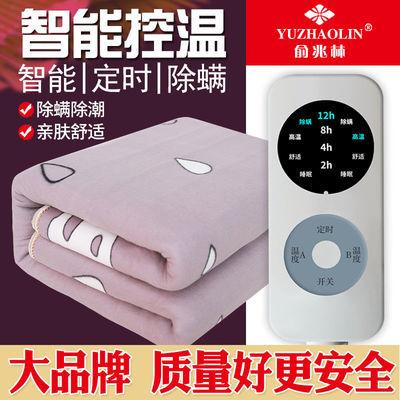 俞兆林电热毯单人双人电褥子双控加大三人学生宿舍家用防水