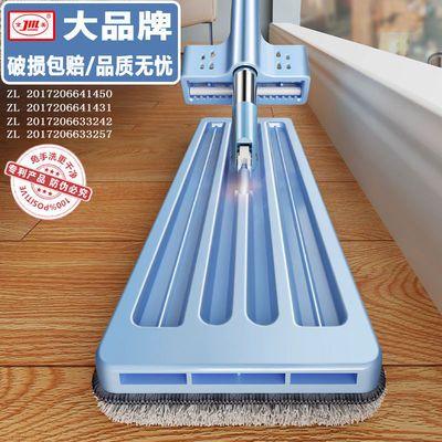 网红免手洗平板拖把神器一拖净家用擦木地板瓷砖懒人干湿两用墩布