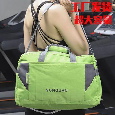 33586/新款时尚手提包旅行包健身运动户外包超大容量包防水面料短途出差