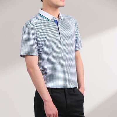 8228/优品剪标时尚休闲男式短袖polo衫HLZLHG606