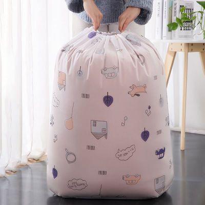 收纳袋束口抽绳家用大号透明棉被袋宿舍防尘防潮棉被袋装衣服袋子