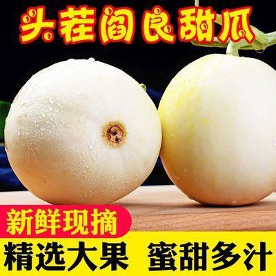 陕西阎良甜瓜10斤新鲜孕妇水果应季当季蜜瓜小香瓜玉茹小白瓜包邮