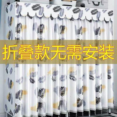 40008/窗帘式布衣柜折叠免安装简易现代简约钢管加粗加固