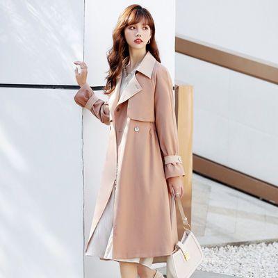 9200/米说高档风衣女中长款2021新款春秋款洋气时尚设计感百搭女士外套