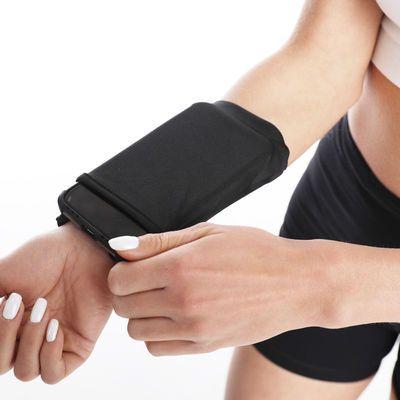 运动跑步手机臂包运动手机袋男女通用华为手腕包手机臂套健身装备