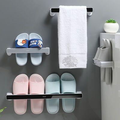 浴室拖鞋架卫生间置物架子免打孔墙壁挂式厕所大学生宿舍必备神器
