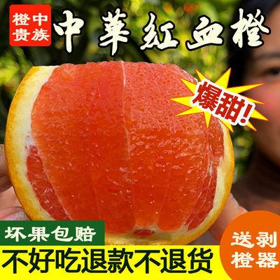 【湖北省热销】贵族血橙中华红现摘现发孕妇水果甜橙鲜橙应季水果