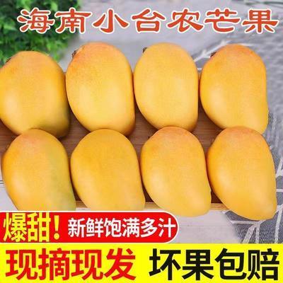 海南小台农芒果当季新鲜芒果热带水果非贵妃玉芒青芒水果整箱批发