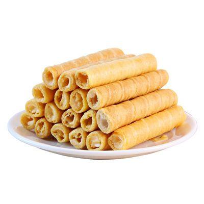 零食/坚果/特产-饼干/膨化-蛋卷 卷心酥 800g
